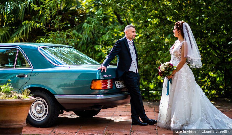 Il matrimonio di Matteo e Elena a Erba, Como