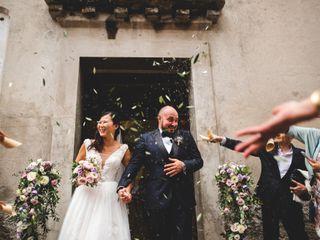 Le nozze di Stephenie e Antonio