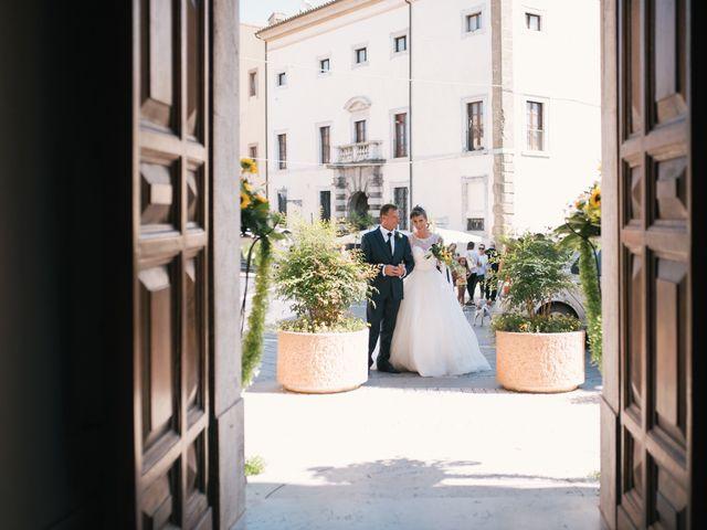 Il matrimonio di Alessio e Cinzia a Viterbo, Viterbo 20