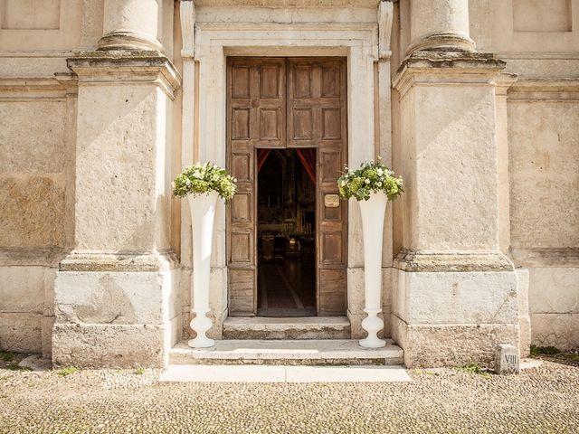Il matrimonio di Enrico e Maria a Villafranca di Verona, Verona 3