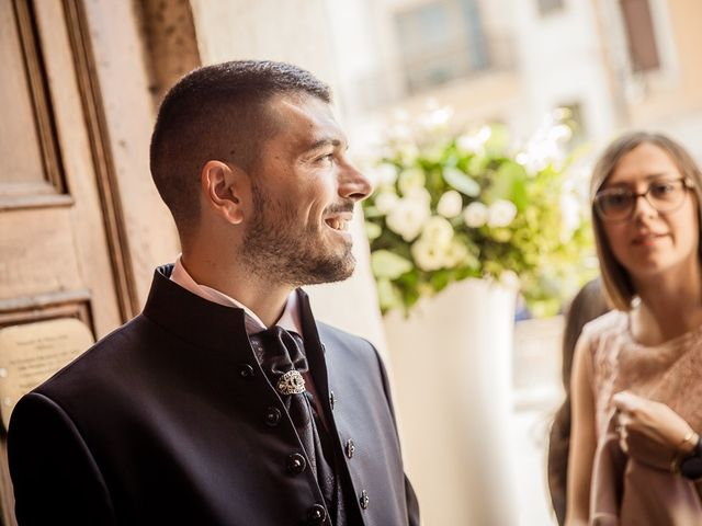 Il matrimonio di Enrico e Maria a Villafranca di Verona, Verona 9