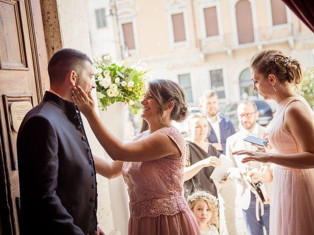 Il matrimonio di Enrico e Maria a Villafranca di Verona, Verona 11