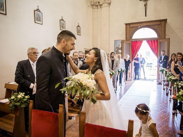 Il matrimonio di Enrico e Maria a Villafranca di Verona, Verona 20