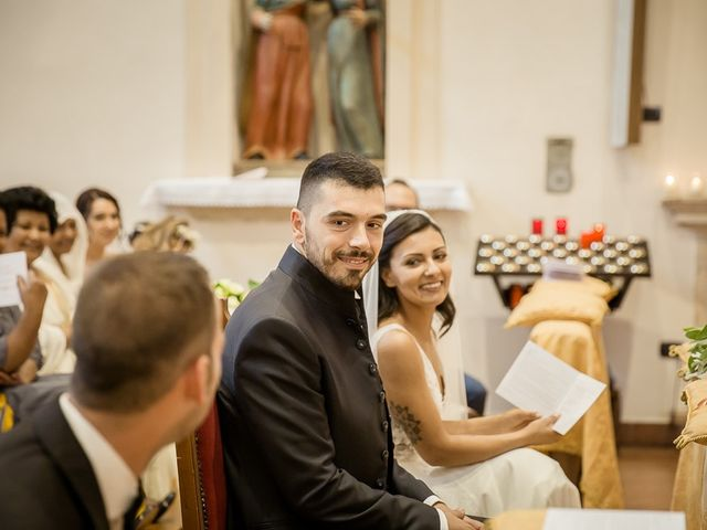 Il matrimonio di Enrico e Maria a Villafranca di Verona, Verona 28