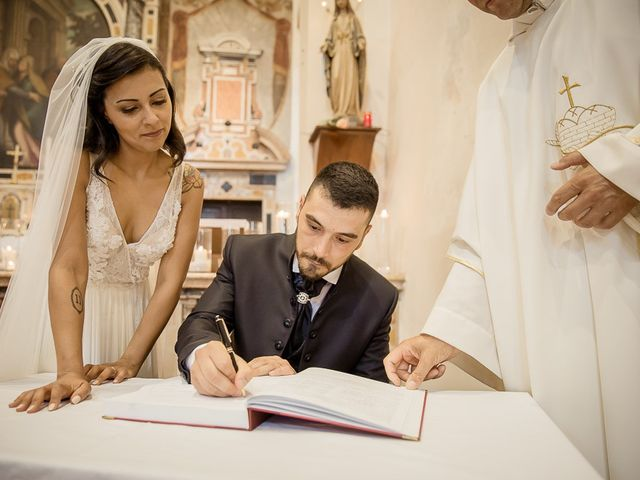 Il matrimonio di Enrico e Maria a Villafranca di Verona, Verona 43