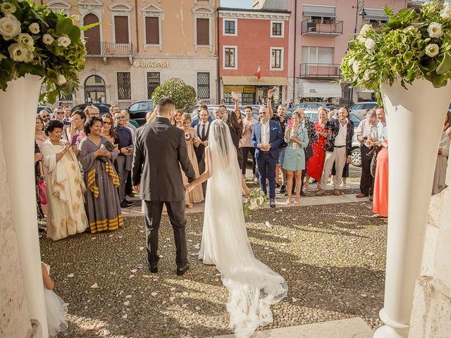 Il matrimonio di Enrico e Maria a Villafranca di Verona, Verona 49