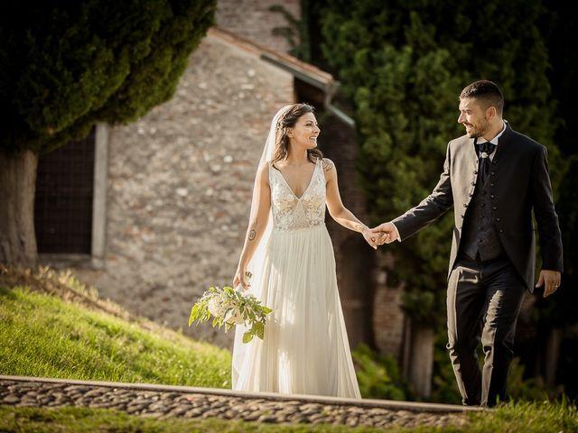 Il matrimonio di Enrico e Maria a Villafranca di Verona, Verona 1