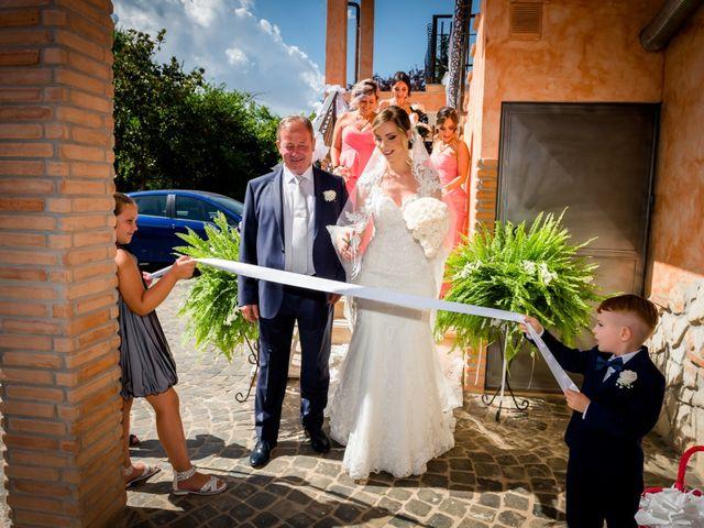 Il matrimonio di Damiano e Martina a Grottaferrata, Roma 22