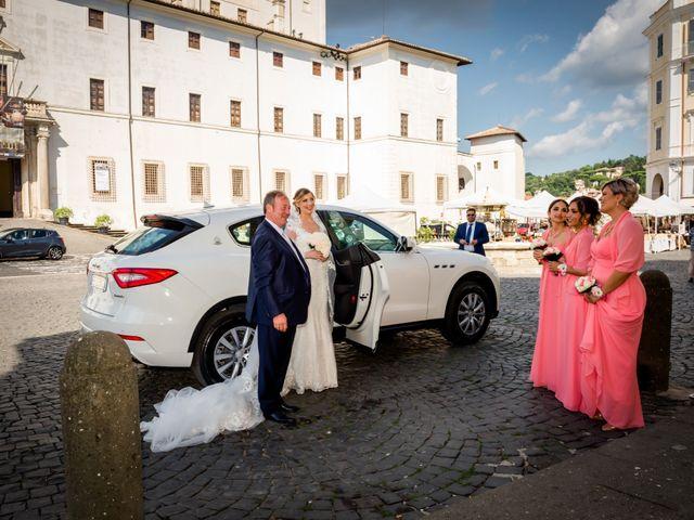 Il matrimonio di Damiano e Martina a Grottaferrata, Roma 24