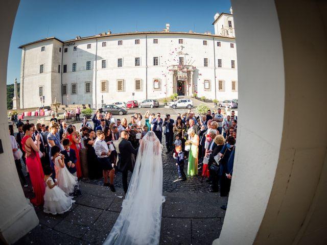 Il matrimonio di Damiano e Martina a Grottaferrata, Roma 32