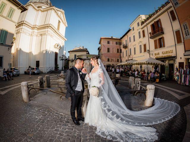 Il matrimonio di Damiano e Martina a Grottaferrata, Roma 38