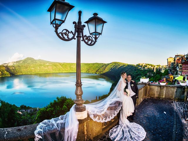 Il matrimonio di Damiano e Martina a Grottaferrata, Roma 41