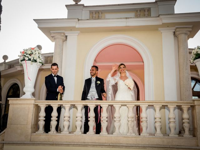Il matrimonio di Damiano e Martina a Grottaferrata, Roma 43