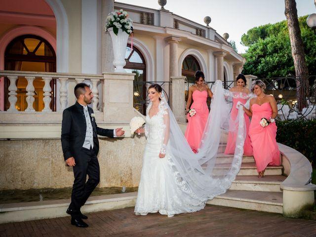 Il matrimonio di Damiano e Martina a Grottaferrata, Roma 45