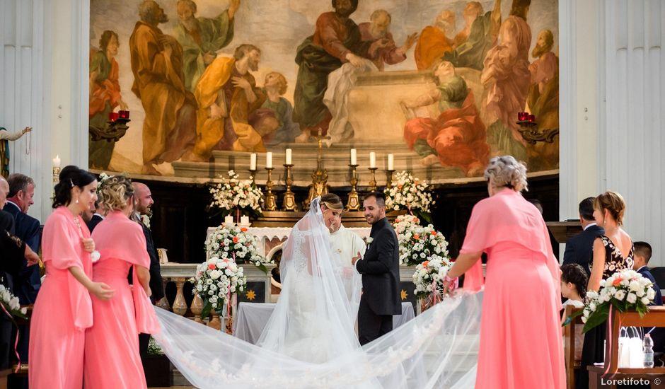 Il matrimonio di Damiano e Martina a Grottaferrata, Roma