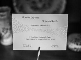 Le nozze di Sabrina e Gaetano 2