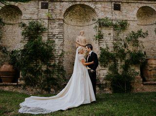 Le nozze di Leanne e David