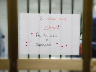 Le nozze di Antonella e Massimiliano 2