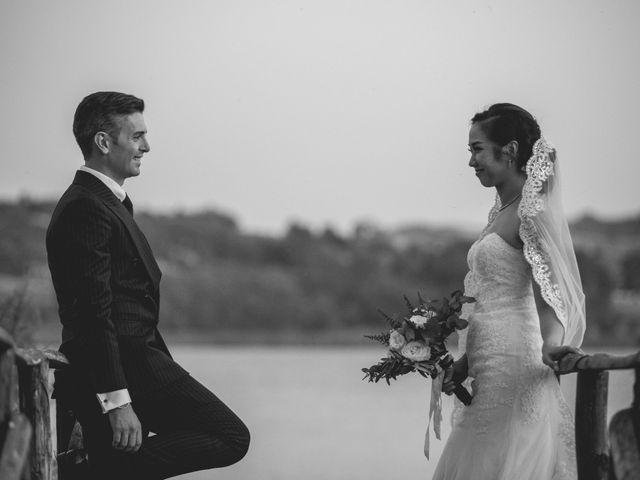 le nozze di May e Enrico