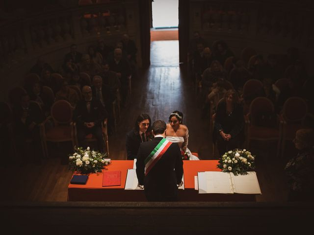 Il matrimonio di Marallely e Marco a Bibbiena, Arezzo 4