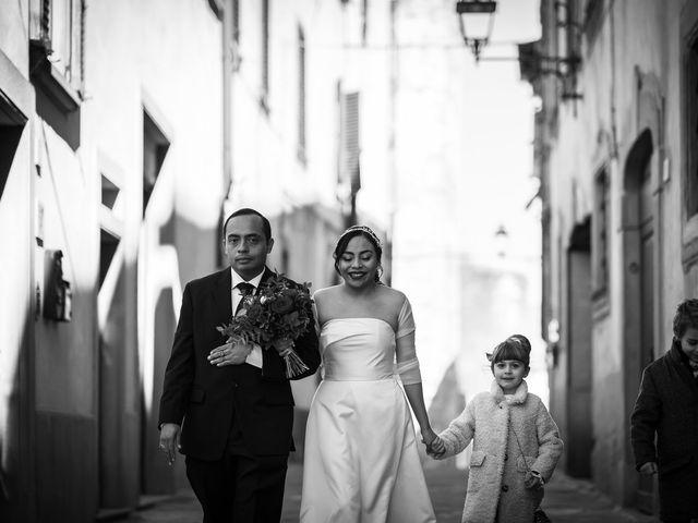 Il matrimonio di Marallely e Marco a Bibbiena, Arezzo 5