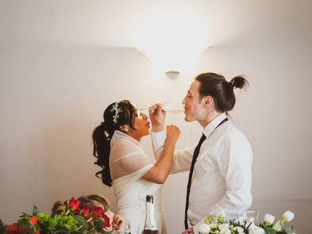 Il matrimonio di Marallely e Marco a Bibbiena, Arezzo 13