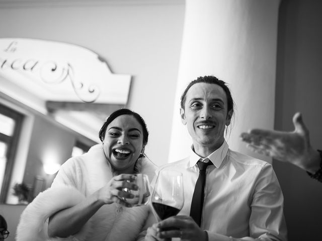 Il matrimonio di Marallely e Marco a Bibbiena, Arezzo 16