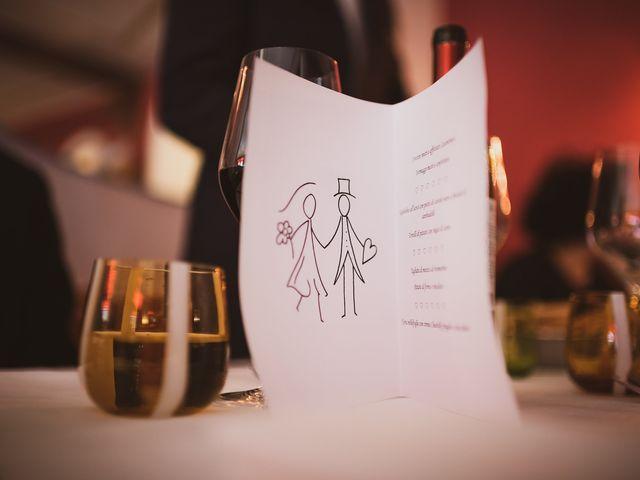 Il matrimonio di Marallely e Marco a Bibbiena, Arezzo 17