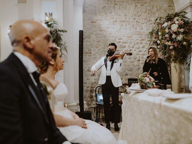 Il matrimonio di Salvatore e Fabiola a Collecorvino, Pescara 70