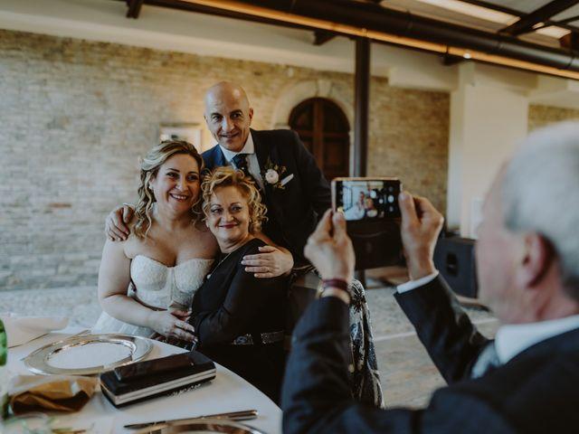 Il matrimonio di Salvatore e Fabiola a Collecorvino, Pescara 110