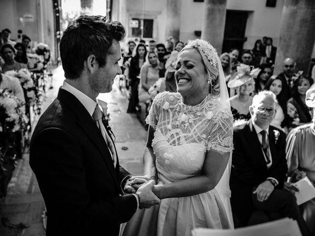 Il matrimonio di David e Leanne a Spoleto, Perugia 56