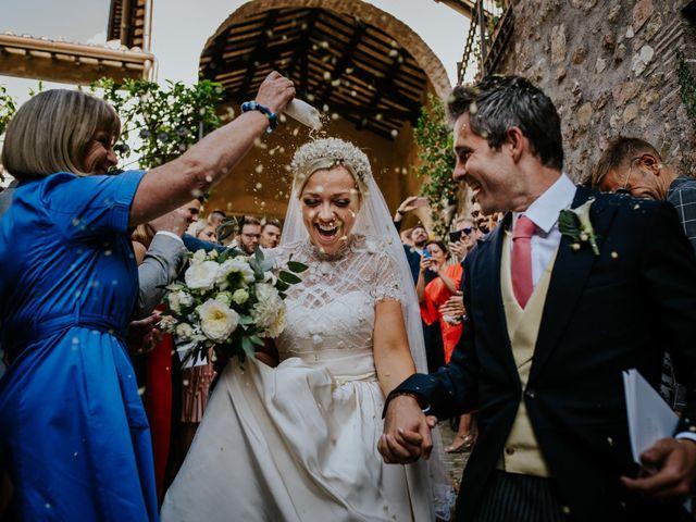 Il matrimonio di David e Leanne a Spoleto, Perugia 62