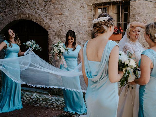 Il matrimonio di David e Leanne a Spoleto, Perugia 64
