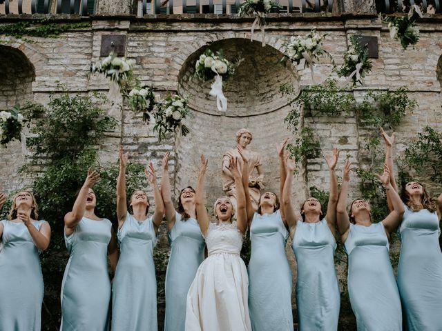 Il matrimonio di David e Leanne a Spoleto, Perugia 81