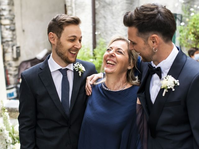Il matrimonio di Dario e Federica a Lierna, Lecco 17