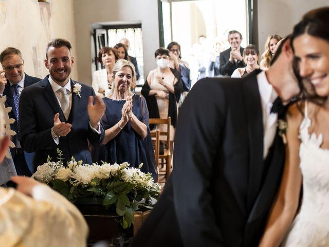 Il matrimonio di Dario e Federica a Lierna, Lecco 30