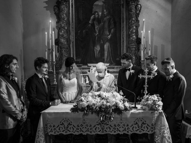 Il matrimonio di Dario e Federica a Lierna, Lecco 34