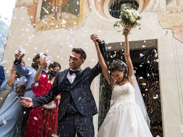 Il matrimonio di Dario e Federica a Lierna, Lecco 35