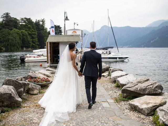 Il matrimonio di Dario e Federica a Lierna, Lecco 39