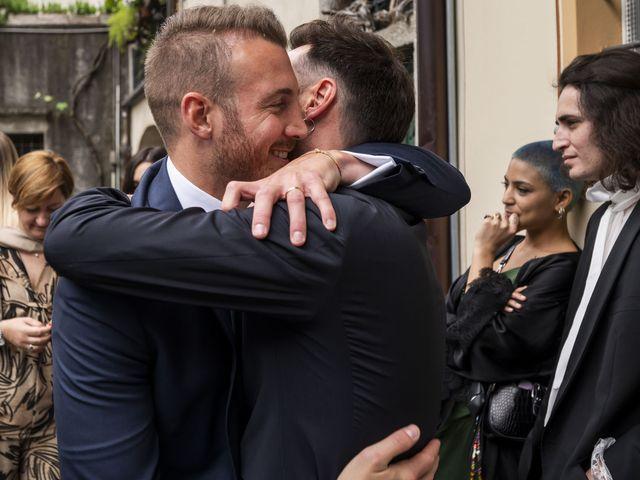 Il matrimonio di Dario e Federica a Lierna, Lecco 40