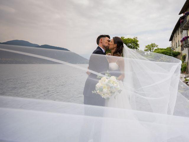 Il matrimonio di Dario e Federica a Lierna, Lecco 43
