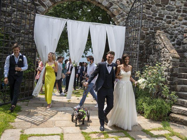 Il matrimonio di Dario e Federica a Lierna, Lecco 52