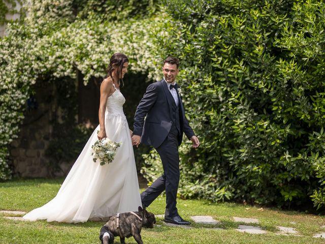Il matrimonio di Dario e Federica a Lierna, Lecco 57