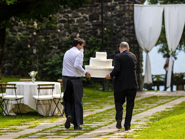 Il matrimonio di Dario e Federica a Lierna, Lecco 59