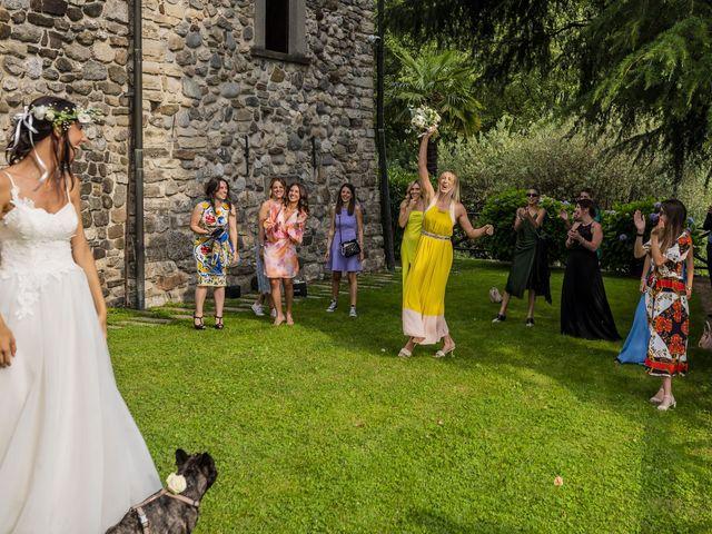 Il matrimonio di Dario e Federica a Lierna, Lecco 63
