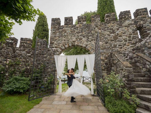 Il matrimonio di Dario e Federica a Lierna, Lecco 64