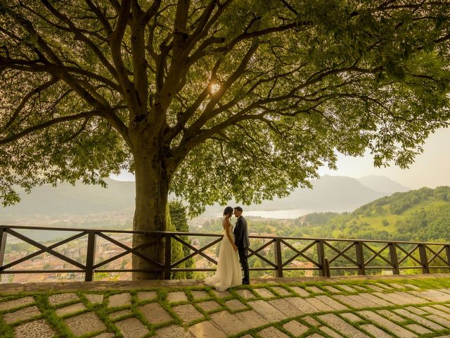 Il matrimonio di Dario e Federica a Lierna, Lecco 65