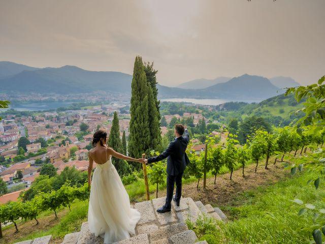 Il matrimonio di Dario e Federica a Lierna, Lecco 68