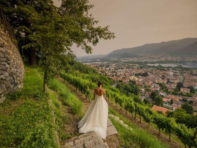 Il matrimonio di Dario e Federica a Lierna, Lecco 69