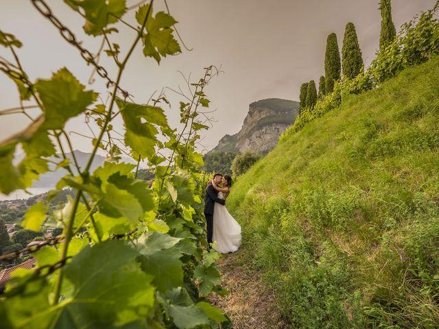 Il matrimonio di Dario e Federica a Lierna, Lecco 2